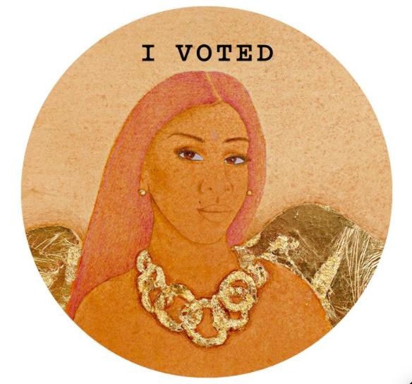Hiba Schahbaz New York Magazine I Voted Cover